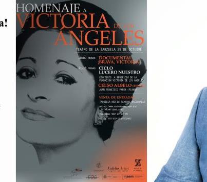 Homenaje a Victoria de los Ángeles