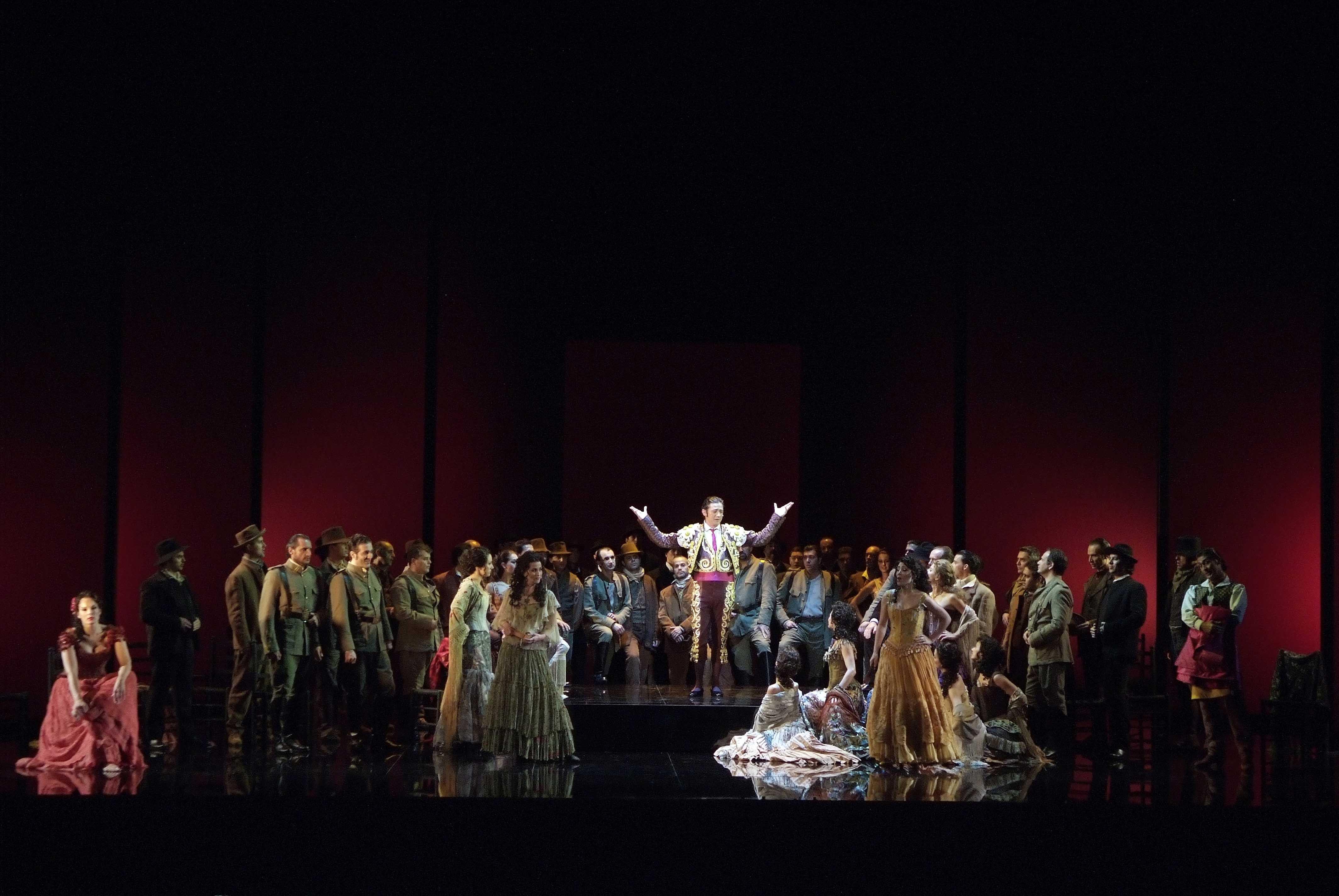 El Teatro Verdi de Trieste representa  Carmen del Palau de les Arts