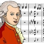 Mozart-dibujo