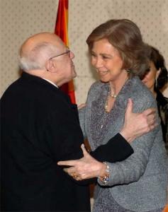 Reina y Rostropovich