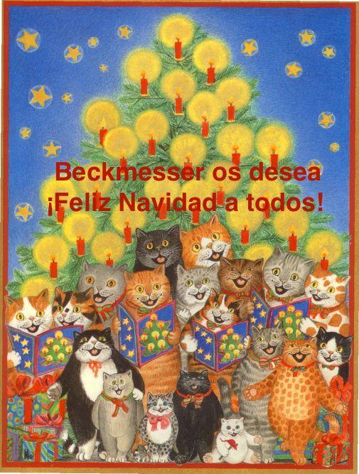 ¡Beckmesser.com desea una feliz Navidad a todos nuestros lectores!