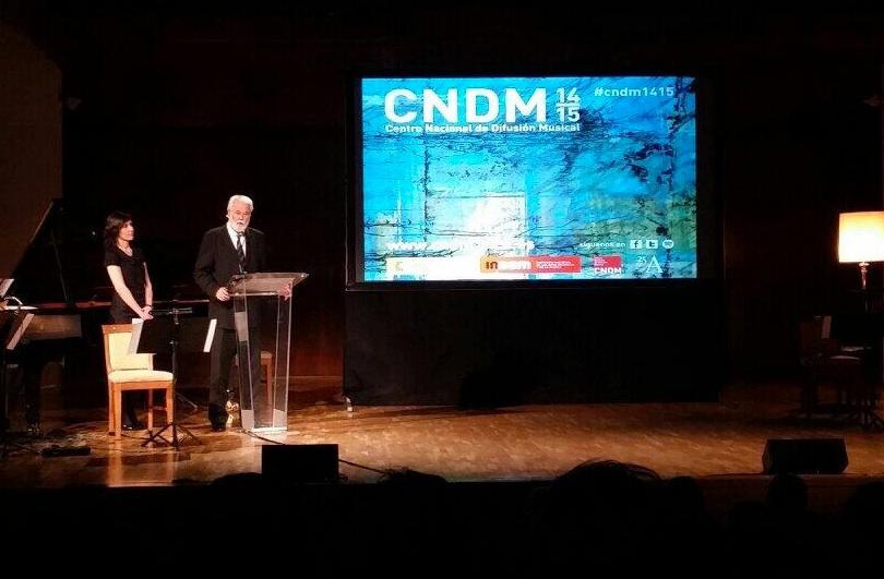El CNDM presenta su TEMPORADA 14/15