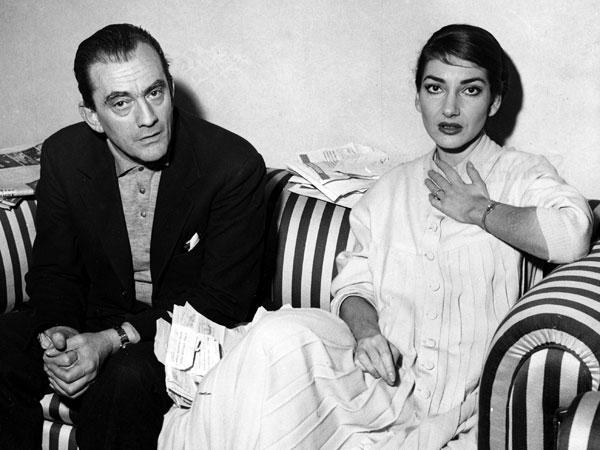 Conversación entre Callas y Visconti