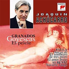 crítica cd de Achúcarro: Granados, Falla y Albéniz. SONY