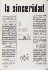 Kraus entrevista 1974 RITMO p1