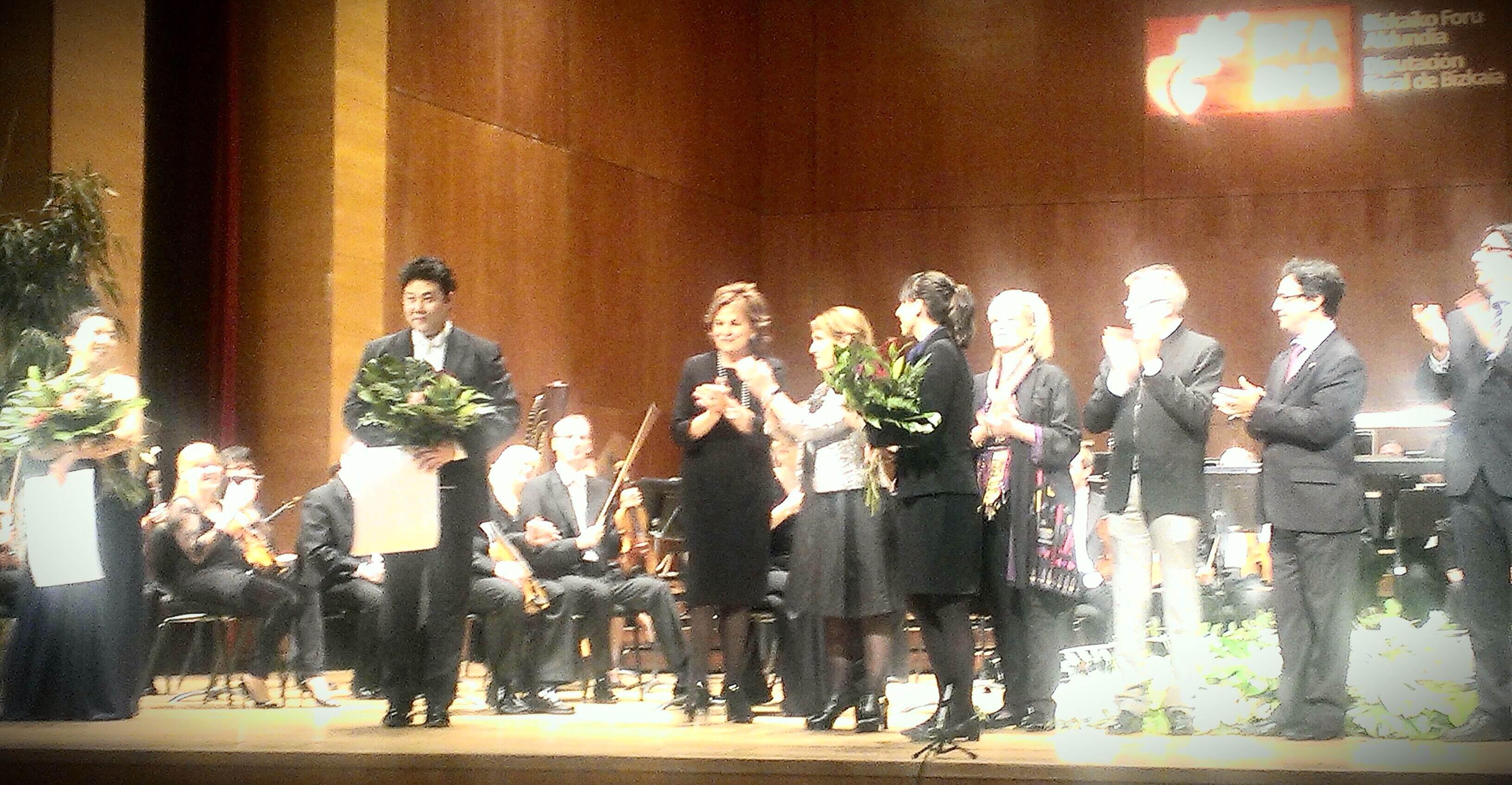 Lussine Levoni y Kihun Yook, ganadores del XV Concurso de Canto de Bilbao-Bizkaia