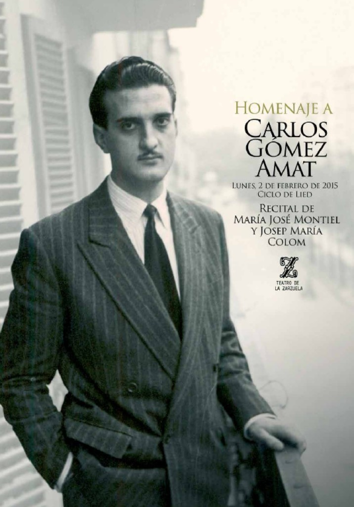En honor a Carlos Gómez Amat