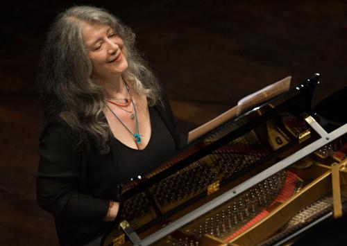 Martha Argerich debuta en La Filarmónica