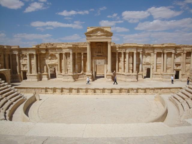 Palmira, ciudad en peligro, en el recuerdo
