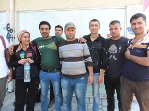 Familia siria en Tesalónica con Hungría como objetivo