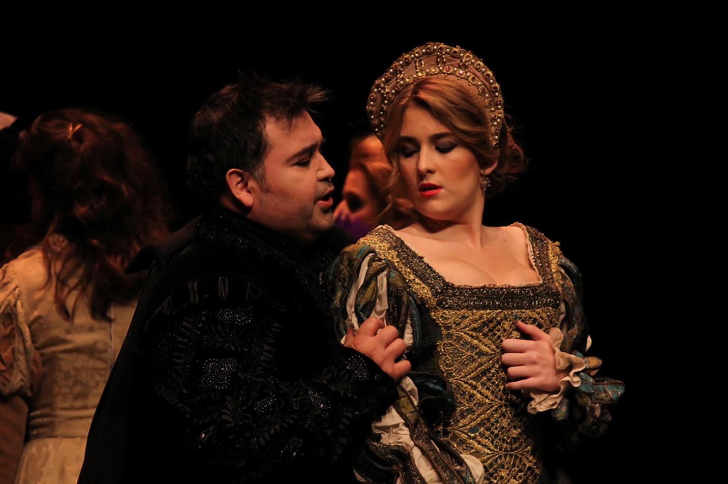 Un Povero Rigoletto en escena