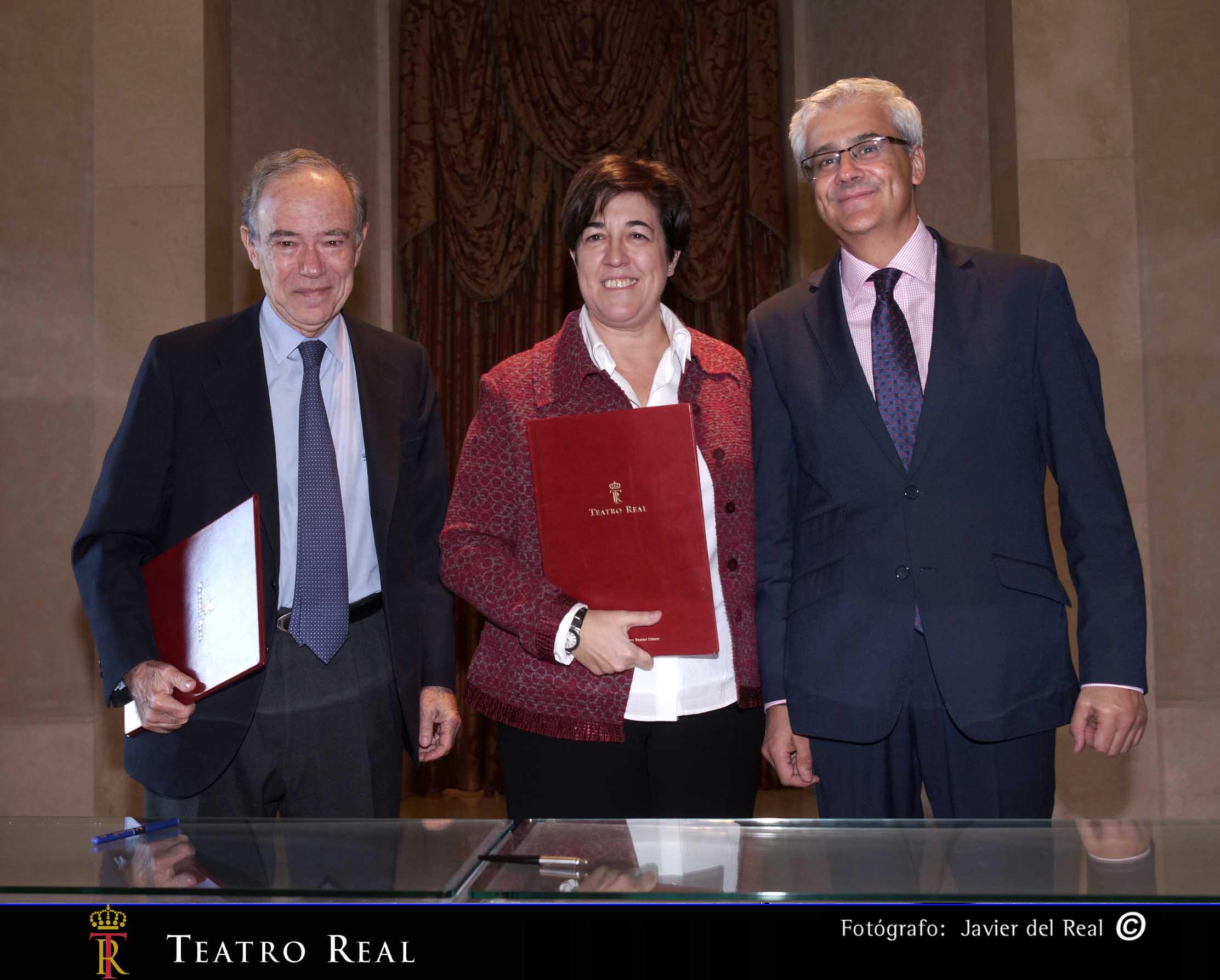 Acuerdo entre el Teatro Real e Hispasat