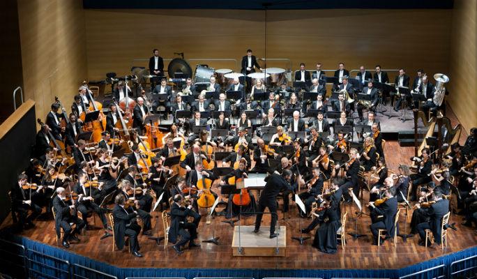 Orquesta de cuerdas de la Jorcam en el Canal