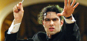This photo provided on Wednesday Sept. 6, 2006 by Teatro alla Scala shows Russian orchestra conductor Vladimir Jurowski performing. Jurowski will conduct Prokofiev's Romeo and Juliet with the Fondazione di Giuseppe Verdi Orchestra and Chorus, at Teatro alla Scala in Milan, Italy starting Sept. 10, 2006. (AP Photo/Teatro alla Scala, ho)** NO SALES **