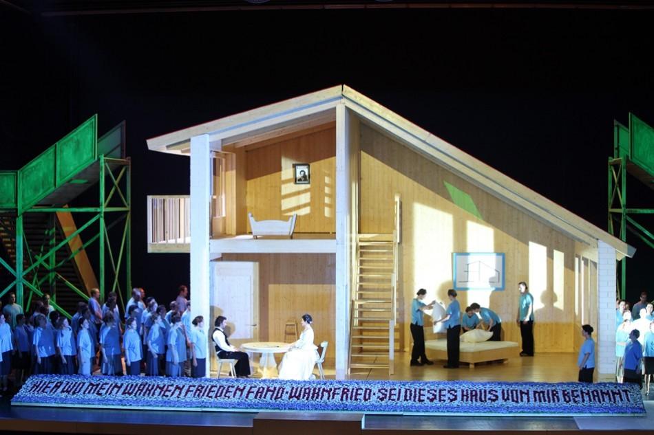 Lohengrin o cómo construir y derribar una casa   Beckmesser