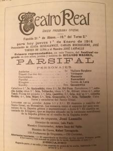 PARSIFAL ESTRENO 1914 TR