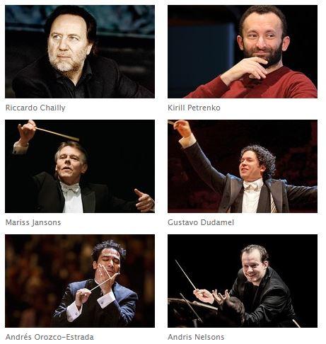 Directores Filarmonica Berlín 2017