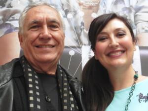 Antoni Parera Fons y la protagonista titular, María José Montiel,