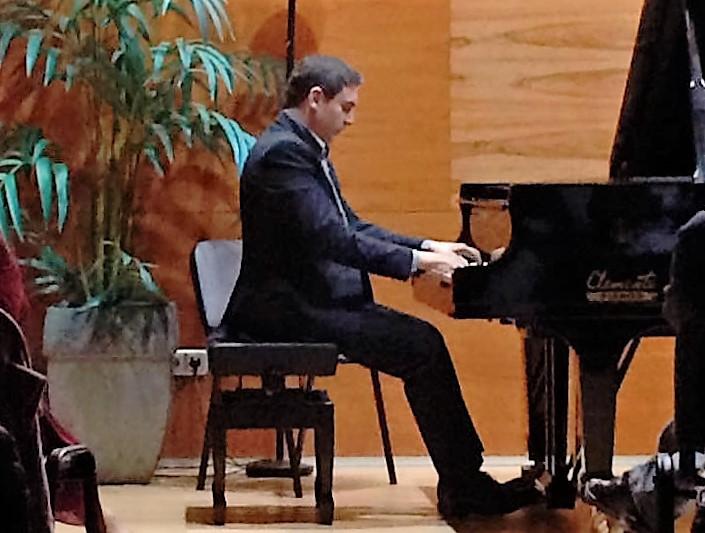 Carles Marin presentó su CD