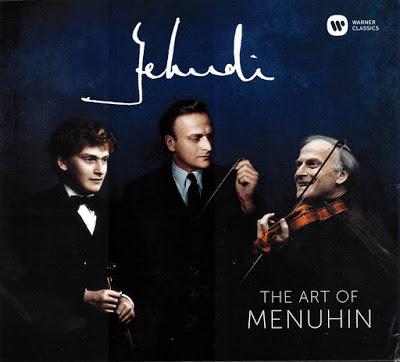 Reseña de CD: The art of Menuhin. Warner