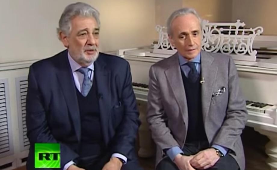 Entrevista conjunta: Domingo & Carreras