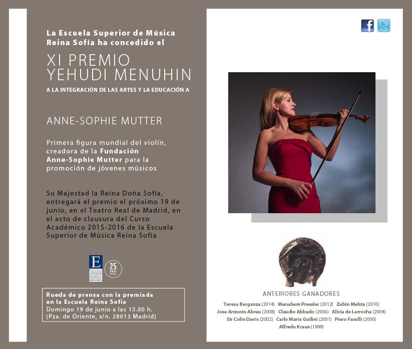 Muttter Premio Yehudi