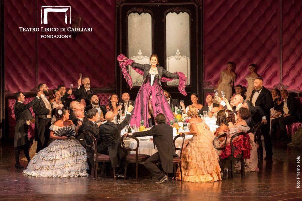 Kos brindis Traviata Cagliari