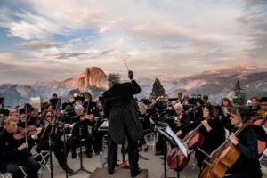 Symphony Orchestra Performing at Glacier Point in Yosemite National Park - See more at: http://slippedisc.com/2016/08/orchestra-portait-of-the-year/#sthash.XreXd9lo.dpuf