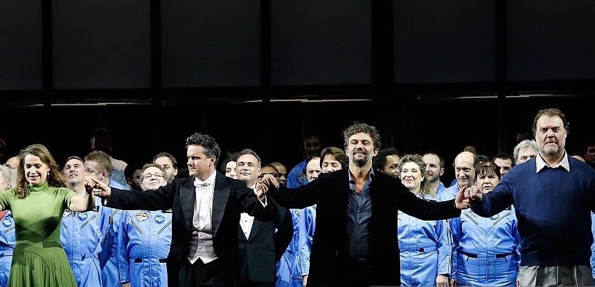 <> at Opera Bastille on December 8, 2015 in Paris, France.