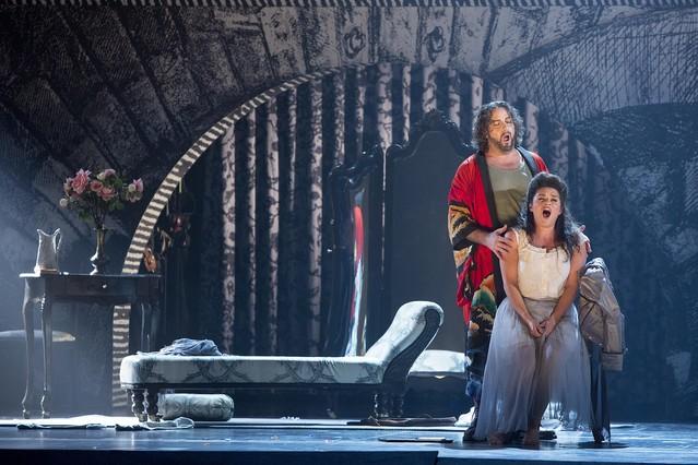 BARCELONA 30/10/2015 icult Ensayo en el LICEU de la ópera ' Benvenuto Cellini ' FOTO FERRAN NADEU