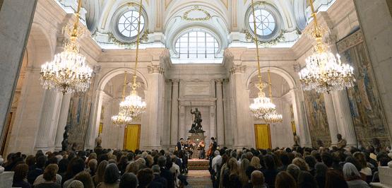 El espíritu de Cervantes en el Palacio Real