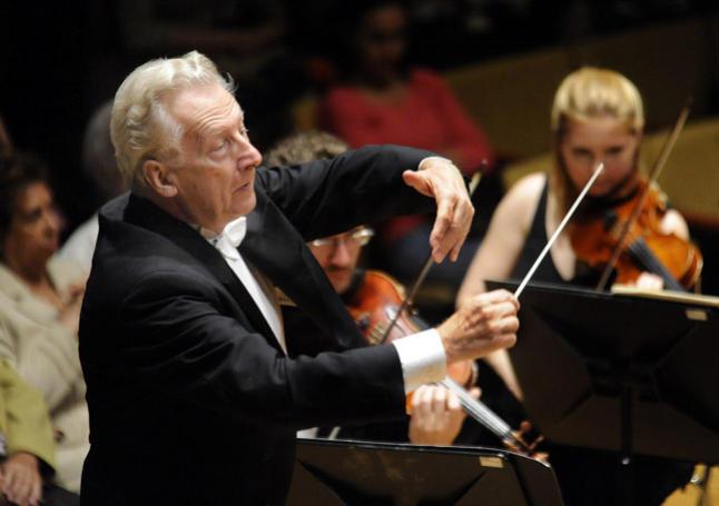 Günther Herbig dirige Mozart y Schumann con la Filarmónica de Gran Canaria