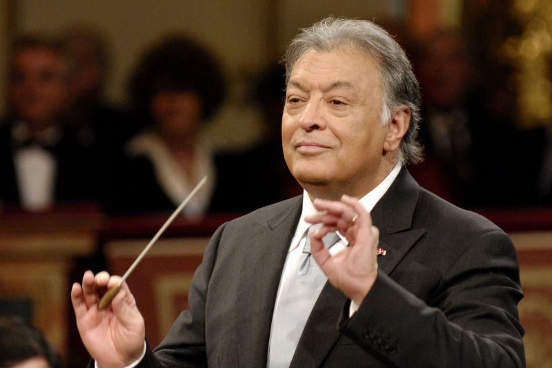 Zubin-Mehta-dirige