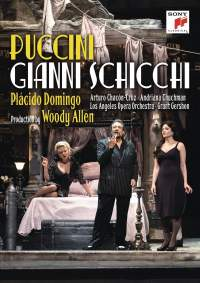 Reseña DVD: Gianni Schicchi (Puccini). Woody Allen. Sony