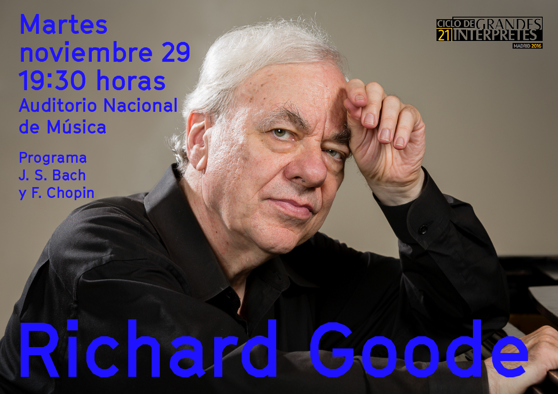 Recital de Richard Goode en Madrid