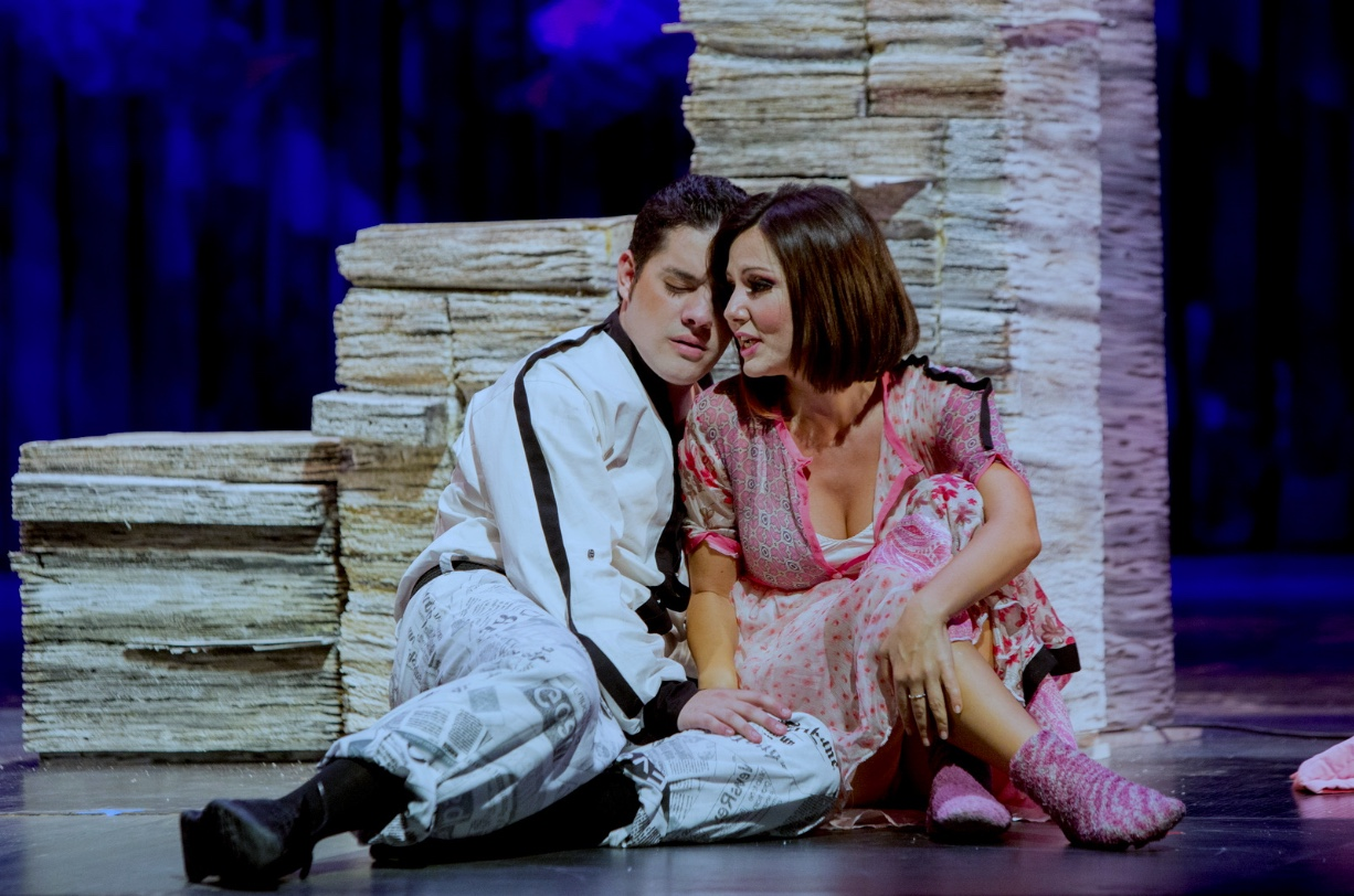 Una ópera bufa en la estela de Rossini