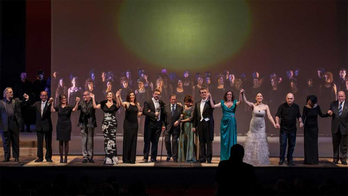 El tripartito elimina los Premios Líricos Campoamor