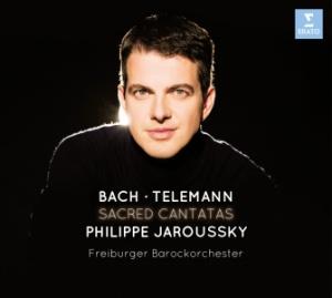 Reseña cd: Cantatas sacras. P.Jaroussky. Erato