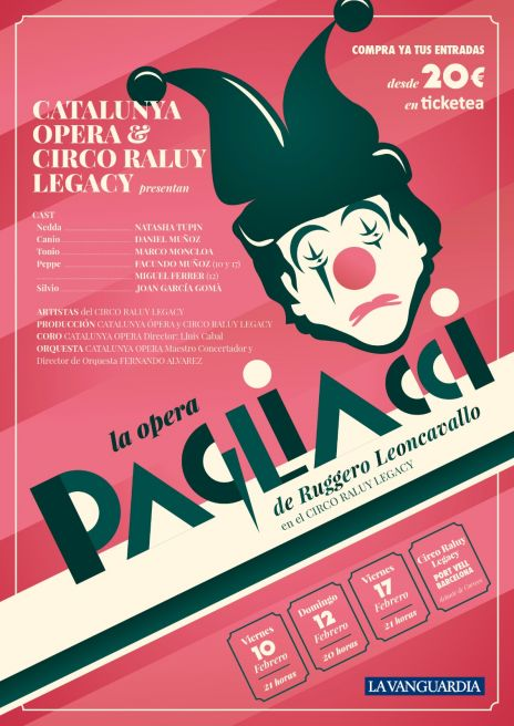 Ópera en el circo este fin de semana en Barcelona