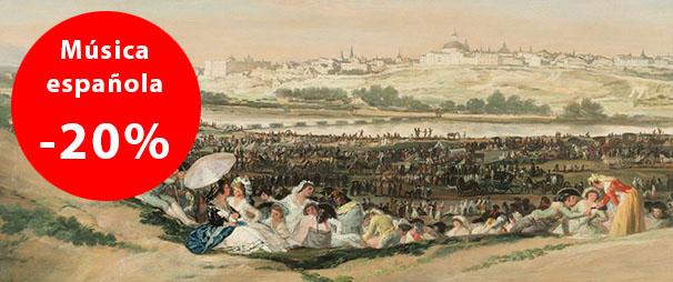 Descuentos en La Quinta de Mahler en música española
