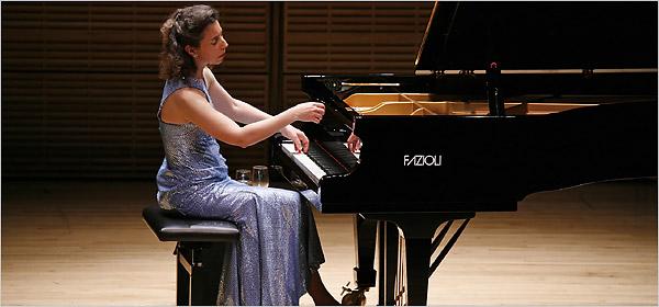 Un precioso recital de Hewitt