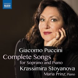 Puccini: Canciones con piano. Krassimira Stoyanova. Naxos