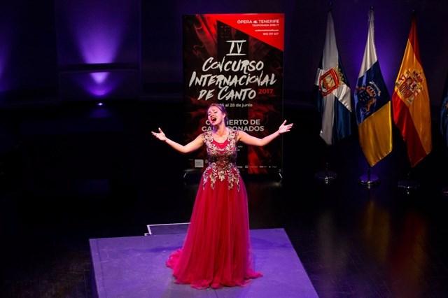 Ganadores del Concurso de canto de Tenerife