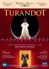 Reseña dvd: Turandot. Stemme, Antonenko, Agresta, Chailly