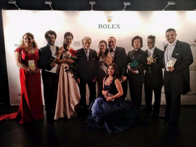 Ganadores del premio Operalia 2017