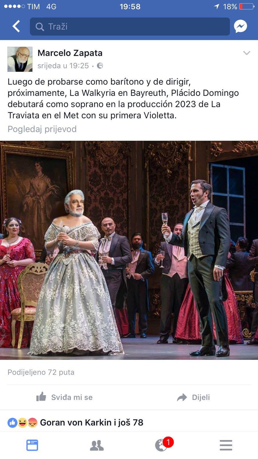 Humor veraniego: De Traviata a Tosca