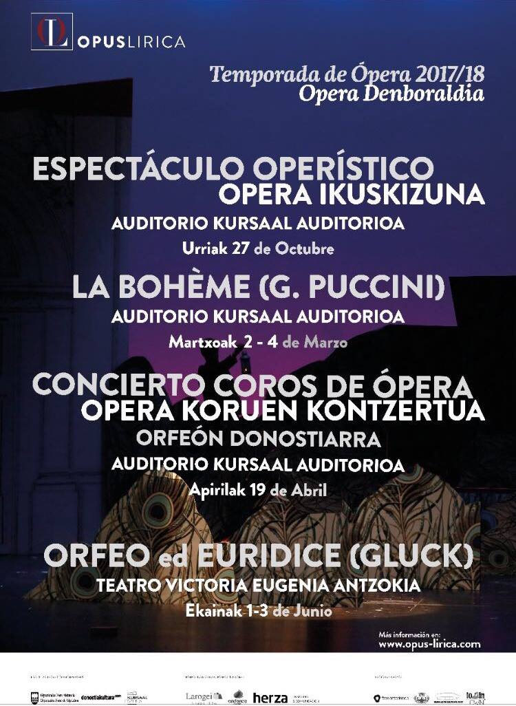La ópera regresa a Donosti con Opus Lírica