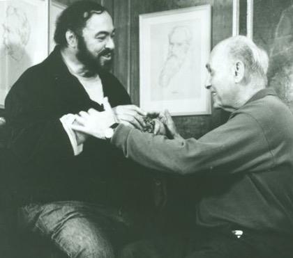 Recuerdo de dos grandes amores: Pavarotti y Solti