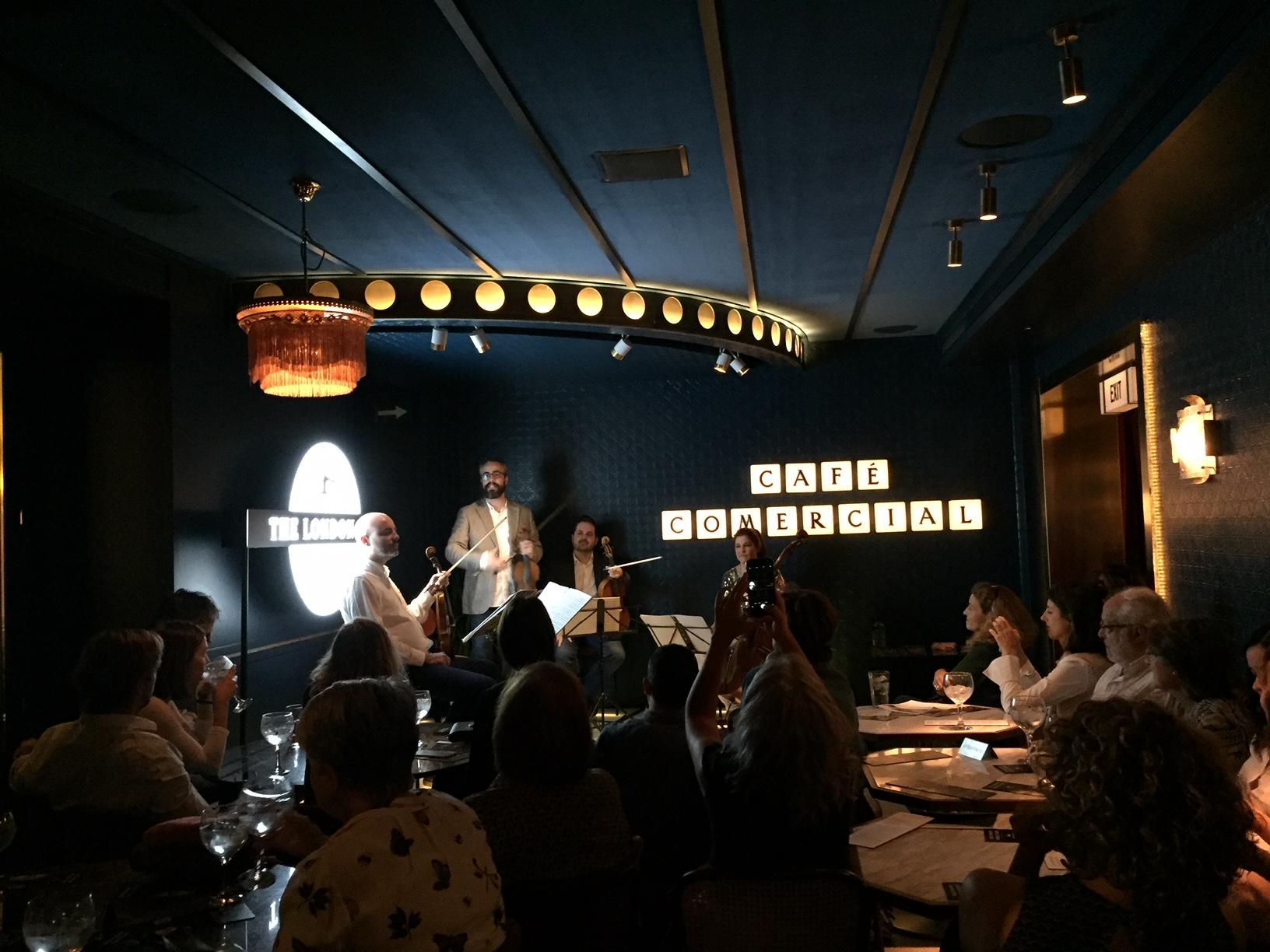 Café Comercial: la música en sus orígenes