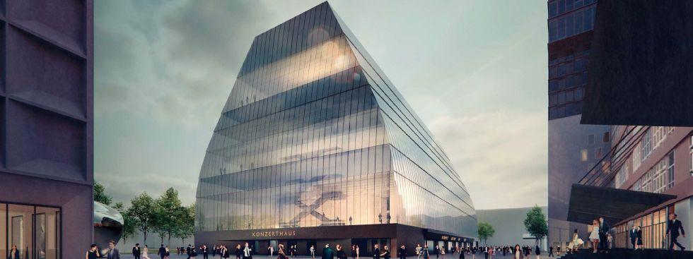 Esta será la nueva sala de conciertos de Munich